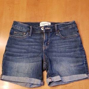 Girl's Abercrombie Kids denim shorts